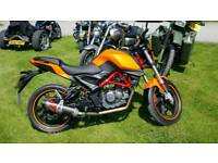 Ksr moto grs 125cc like new lots spent on it