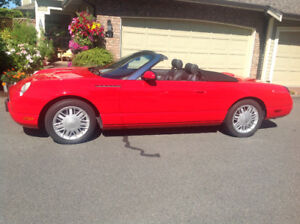 2002 Ford Thunderbird Convertible. Great shape