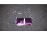 Purple Wedding Bag