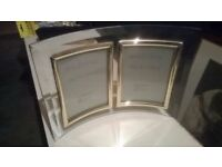 Glass double picture frame central London bargain