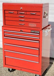 Proto Tool Box and Craftsman Roller Cabinet