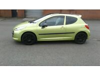 PEUGEOT DIESEL 207 CHERISHED NUMBER CHEAP TAX £1295