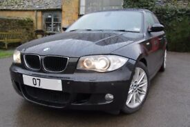 BMW 120D M SPORT 2007 NEW MOT BI-XENON, LEATHER, PRIVACY GLASS