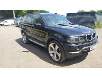 BMW X5 3.0D DIESEL AUTOMATIC. 111,000 MILES, 2003. 11 MONTHS MOT. CLEAN AND STRAIGHT