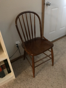 antique chair. nice shape. wood