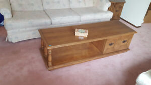 Coffee table and end tables for sale