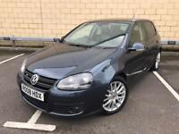 2008 Volkswagen Golf 2.0 TDI GT, Full Leather, Heated Seats, New Tyres, Clutch, Turbo