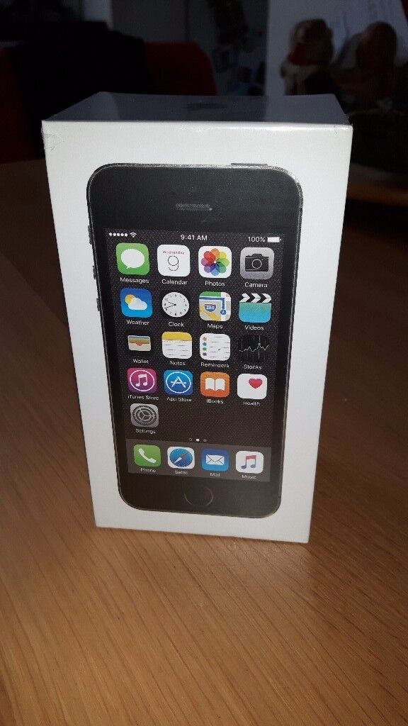 iphone 5S 16gb Grey. Brand new..unwanted insurance replacement. Still boxedin Cardonald, GlasgowGumtree - iphone 16gb Grey..still boxed and sealed ... unwanted insurance replacement. Will only open for serious buyers