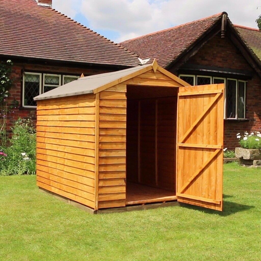 8 x 6 overlap wooden garden shedin oldham manchestergumtree description this 8ft x 6ft - Garden Sheds Oldham
