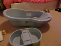 Blue Baby Boys Bath and Top And Tale Bowl