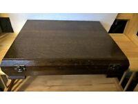 wooden canteen cutlery box