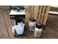 *SOLD* MATTHEW ALGIE COMERCIAL COFFEE MACHINE (BRAVILOR POUROVER INSULATED SERVING JUG)