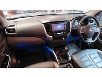 2016 MITSUBISHI L200 Double Cab DI D 178 Barbarian 4WD Sat Nav Full Leather