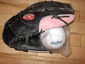 Softball and Baseball Adult Size Gloves, Bats, Balls and More