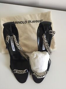 Ladies Designer Manolo Blahnik Sandals