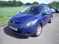 MAZDA 2 TS2 - LOW MILEAGE - FSH, Blue, Manual, Petrol, 2009