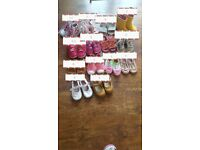 A bundle of girls shoes 25£ (next,nike etc..)