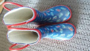 Toddler size 8 Rainboots