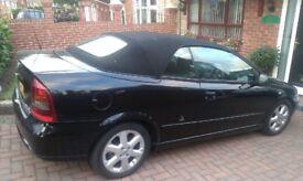 Vauxhall ASTRA BERTONE Convertable Black