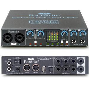 Interfaces audionumériques FireWire Focusrite Saffire Pro 24 DSP