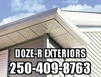 Old, Leaking or Damaged Gutters? We can help. Small jobs welcome