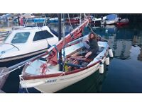 Falmouth Bass Boat for sale 16ft PRICE REDUCED-mooring needed 4 other boat