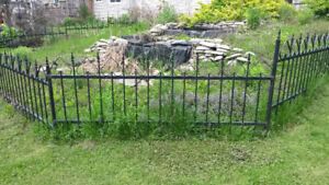 Wrought Iron Fencing ($25 / foot)