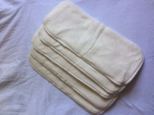 New! Reusable Soft Diaper Nappy Insert Liner Bamboo Fiber