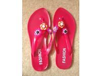 Soft plastic slippers