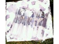 New cutlery for six settings