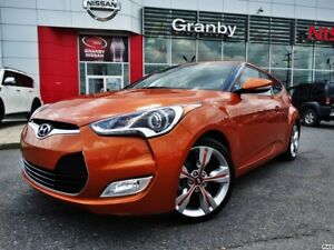 2014 Hyundai Veloster TOIT PANORAMIQUE/GPS/VOLANT CHAUFFANT/CUIR