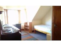 REPOST: Single, self contained bedsit in quiet house