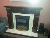 Electric Fire PLUS Surround All In Excellent Condition £150 ono