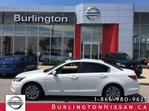 2012 Honda Accord Sedan EX-L, NAVIGATION, ACCIDENT FREE !