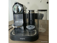 MAGIMIX NESPRESSO Citiz Coffee Machine and Milk Frother - For parts as frother does not heat up