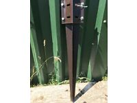 15 x Metal Fence Post Spikes