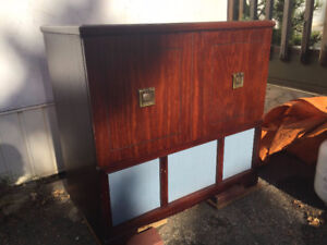 BUFFET STORAGE CABINET REDUCED TO $150.00