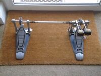 Pearl bass drum double pedal chain driven