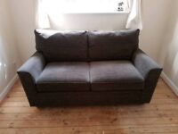 NEW NEXT EX SHOWROOM 2 SEATER SOFA CAN DLEIVER