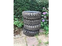 Off road tyres 235/70 r16