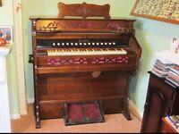 Antique Packard Harmonium/Pump Organ - Full Working Order