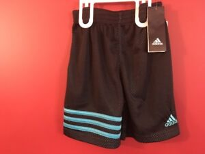 ADIDAS Boy's Active Shorts - Size 4 - Brand new!