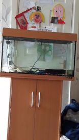 Juwel 125 tank with stand