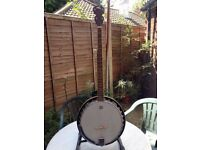 Five string banjo