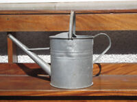 Vintage/retro style metal watering can
