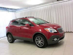 2016 Buick Encore SPORT TOURING AWD, NOT YOUR AVERAGE BUYBACK!!