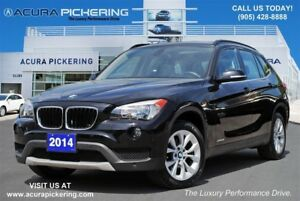 2014 BMW X1 xDrive28i|Sunroof|Heated Front Seats