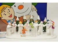 Wanted Coalport Snowman ornament The Snowman's Party, see picture.