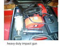 Impact gun cordless