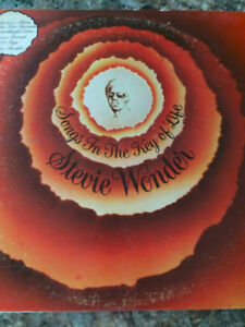 Vinyle de Stevie Wonder  Songs In the Key of Life